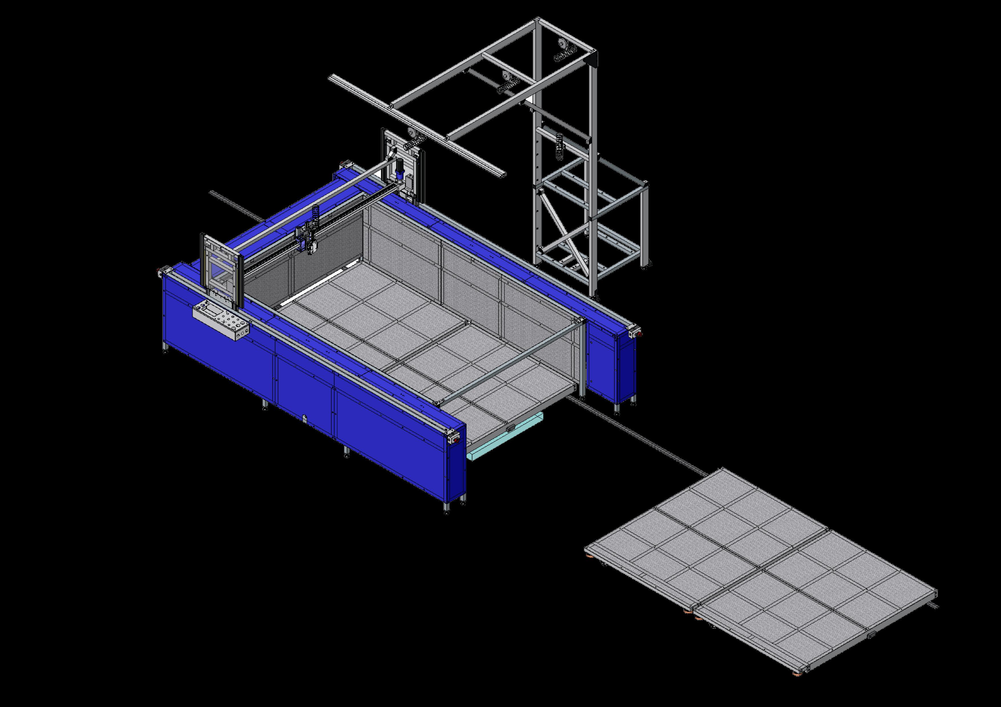 xy glue plotter (cnc) gluer GLUEJET PA2 WW