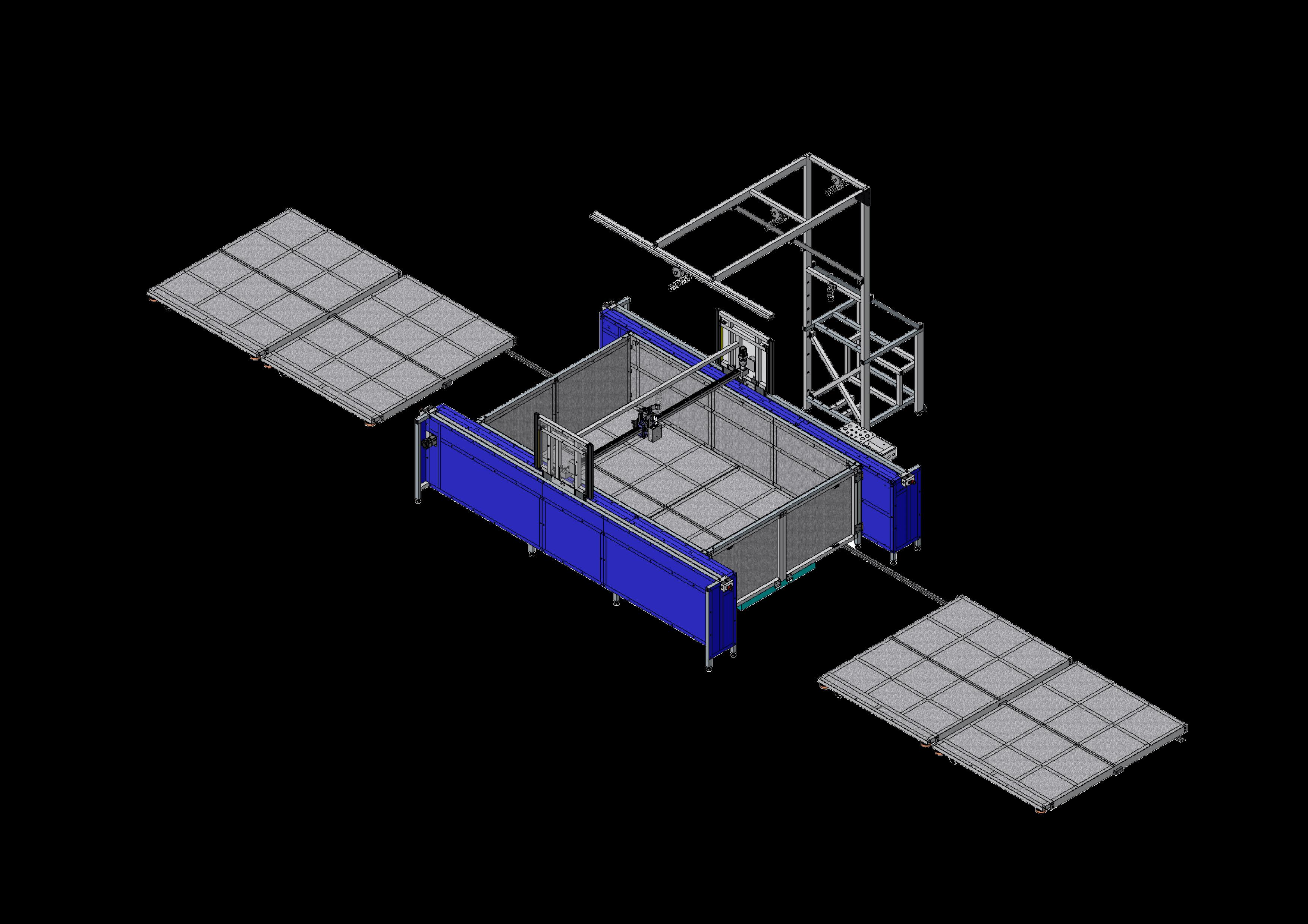xy glue plotter (cnc) gluer GLUEJET PA2 WW2